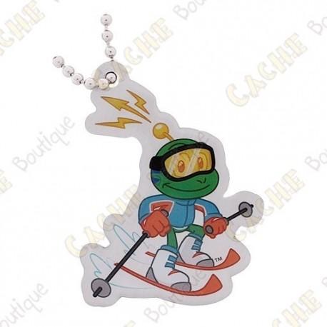 Signal the frog Traveler - Skiing