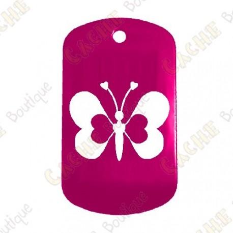 """Loving Butterfly"" Traveler - Pink"