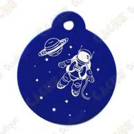 "Traveler volta ""Planet Exploration"" - Azul"