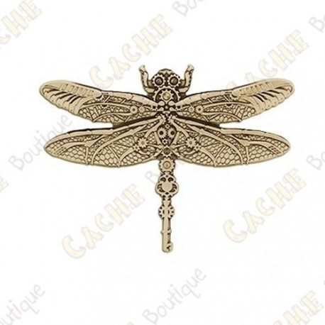 "Geocoin ""Steampunk"" - Dragonfly"