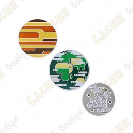 """Geocoin """"Solar System"""" - Mercury, Earth , Venus"""