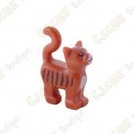 Chat LEGO™ trackable - Marron