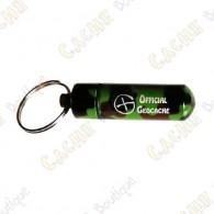 "Micro capsule ""Official Geocache"" 5 cm - Camo"