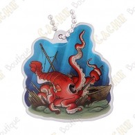 """""""Hidden Creatures"""" Travel tag - Kraken"""