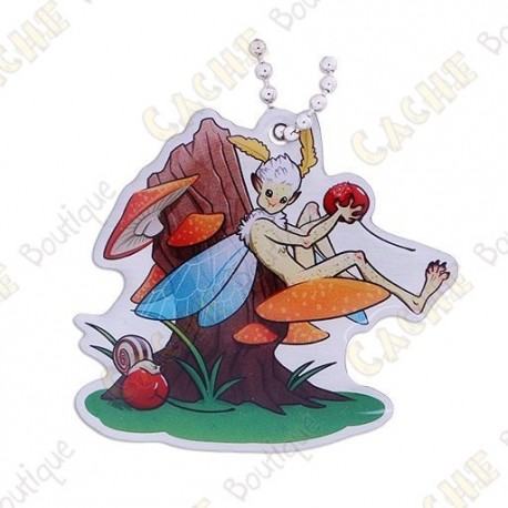 """Hidden Creatures"" Travel tag - Fairy"