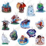 """""""Hidden Creatures"""" Travel tag - Pack of 13"""