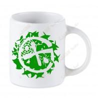 Mug Geocaching blanc - Broussailles
