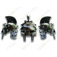 "Geocoin ""Roman Helmet"" 3D - Spiked Crest Gladiator"