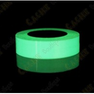Glow in the dark tape - White