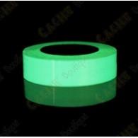 Ruban adhésif fluorescent - Vert
