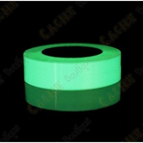 Glow in the dark tape - White