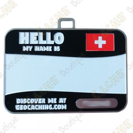 Name tag trackable - Switzerland