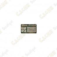 """Sticker """"Small"""" - Camuflagem"""