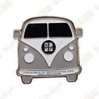 "Géocoin ""VW Van"" - Gris"