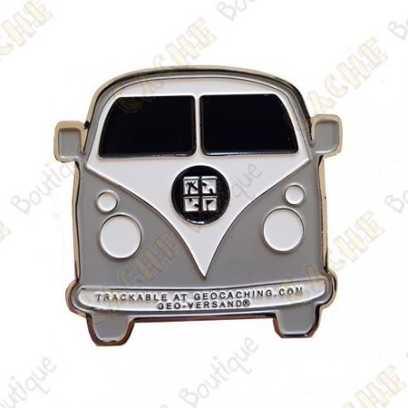 "Géocoin ""VW Van"" - Grey"