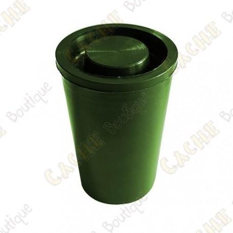 "Cache ""film canister"" hermético - Verde"