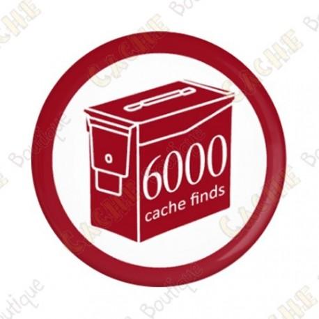 Geo Score Button - 6000 finds