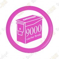 Geo Score Button - 9000 finds
