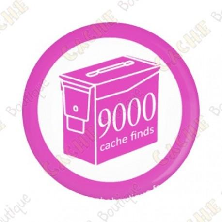 Geo Score Crachá - 9000 finds