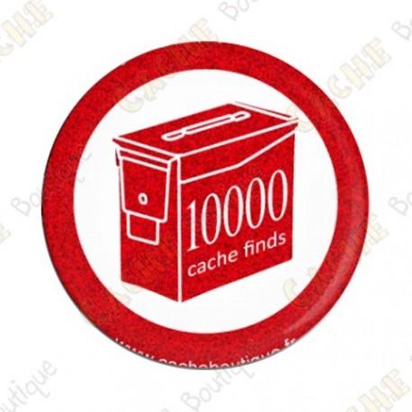 Geo Score Crachá - 10 000 finds