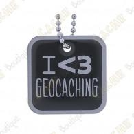 "Travel tag ""I love Geocaching"""