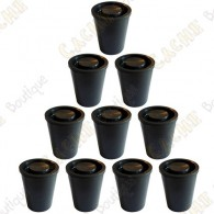 Waterproof film canister cache x10 - Black