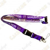 Geocaching lanyard - Purple