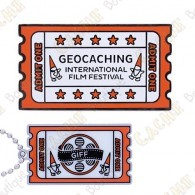 "Geocoin ""GIFF"" 2019 + Travel Tag"