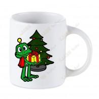 """Taza """"Christmas with Signal"""""""