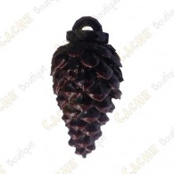 "Waterproof cache ""Pine cone"" - Dark brown"