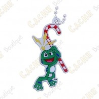 """Traveler Signal the frog """"Candy Cane"""""""