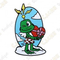 "Géocoin ""Signal the Frog™ Cupid"" - Saint Valentin"
