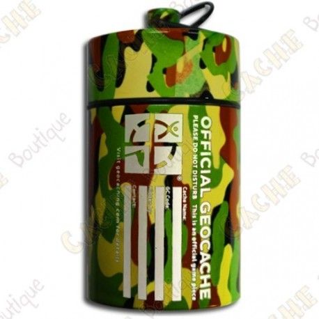 """Micro cache """"Official Geocache"""" 10 cm - Jungle"""