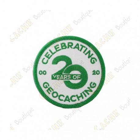 """Remendo """"20 Years of Geocaching"""""""