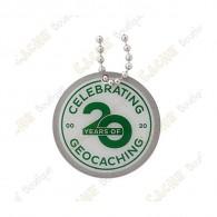 """Traveler """"20 Years of Geocaching"""""""