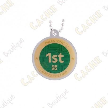 "Travel tag ""Milestone"" - 1st Find"