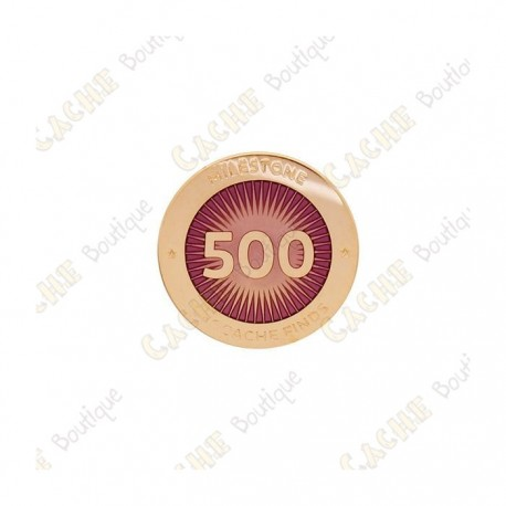 "Pin's ""Milestone"" - 500 Finds"