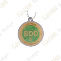 "Traveler ""Milestone"" - 800 Finds"
