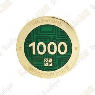 "Geocoin ""Milestone"" - 1000 Finds"