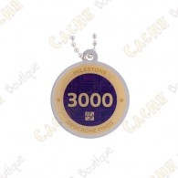 "Travel tag ""Milestone"" - 3000 Finds"