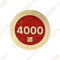 "Geocoin ""Milestone"" - 4000 Finds"