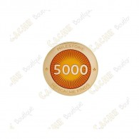 "Pin's ""Milestone"" - 5000 Finds"