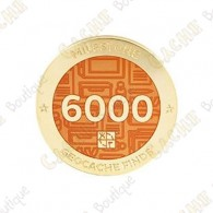 "Geocoin ""Milestone"" - 6000 Finds"