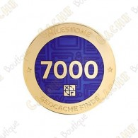 "Geocoin ""Milestone"" - 7000 Finds"