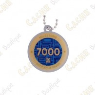 "Travel tag ""Milestone"" - 7000 Finds"