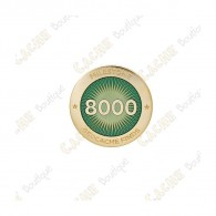 "Pin's ""Milestone"" - 8000 Finds"