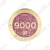 "Geocoin ""Milestone"" - 9000 Finds"