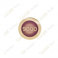 "Pin's ""Milestone"" - 9000 Finds"