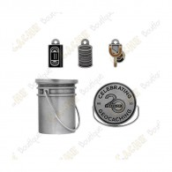 "Geocoin ""Original Stash Bucket"" 3D"