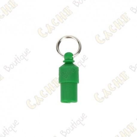Hanging Nano Cache - Green